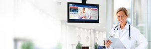 Top 5 benefits of digital signage in health care